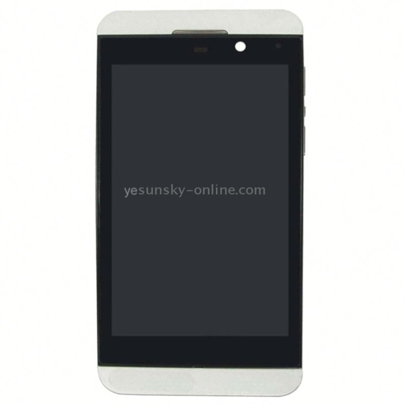<strong>LCD</strong> Screen and Digitizer Full <strong>Assembly</strong> for BlackBerry <strong>Z10</strong> 3G(White)