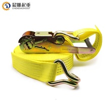 50mm ratchet tie down 5ton 10 meters cargo lashing belts with ce certificate