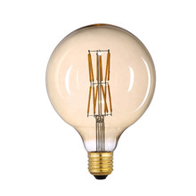 Retro European G125 Dimmable 220V E27 E26 Edison LED Filament Ball Light