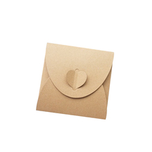 wholesale small envelope  style packaging mailing boxes for gift envelopes