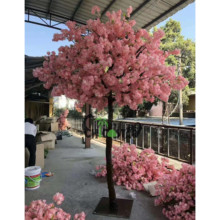 Customized artificial cherry flower blossom tree / new design wedding plastic cherry blossom tree arched <strong>sakura</strong>
