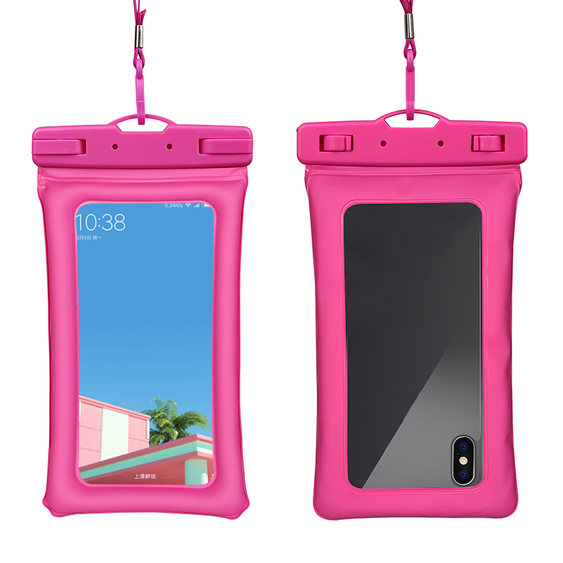 Top Quality Outdoor Sport water proof mobile phone bags case Underwater Case for Apple iPhones