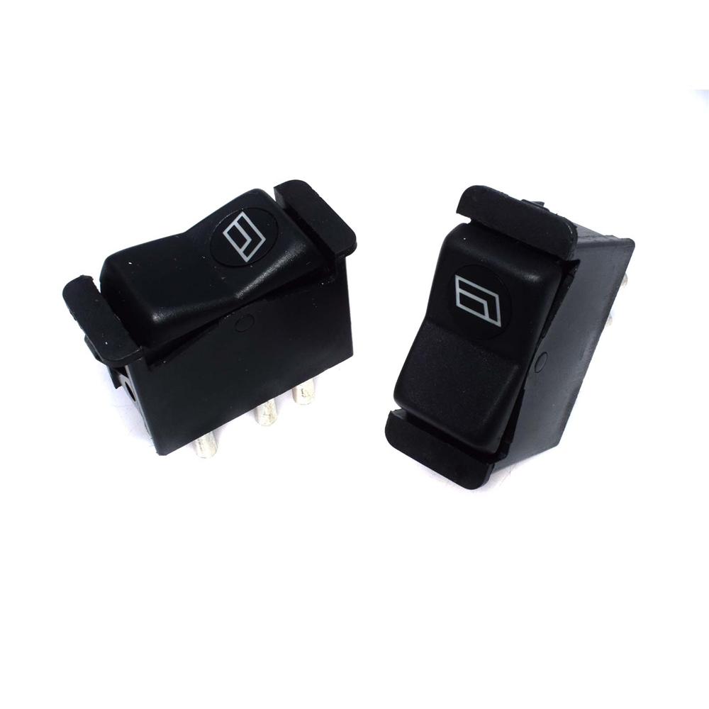 Free Shipping!FOR Mercedes <strong>W123</strong> Set of 2 Power Window Switches In Rear Door Panels 0008208410