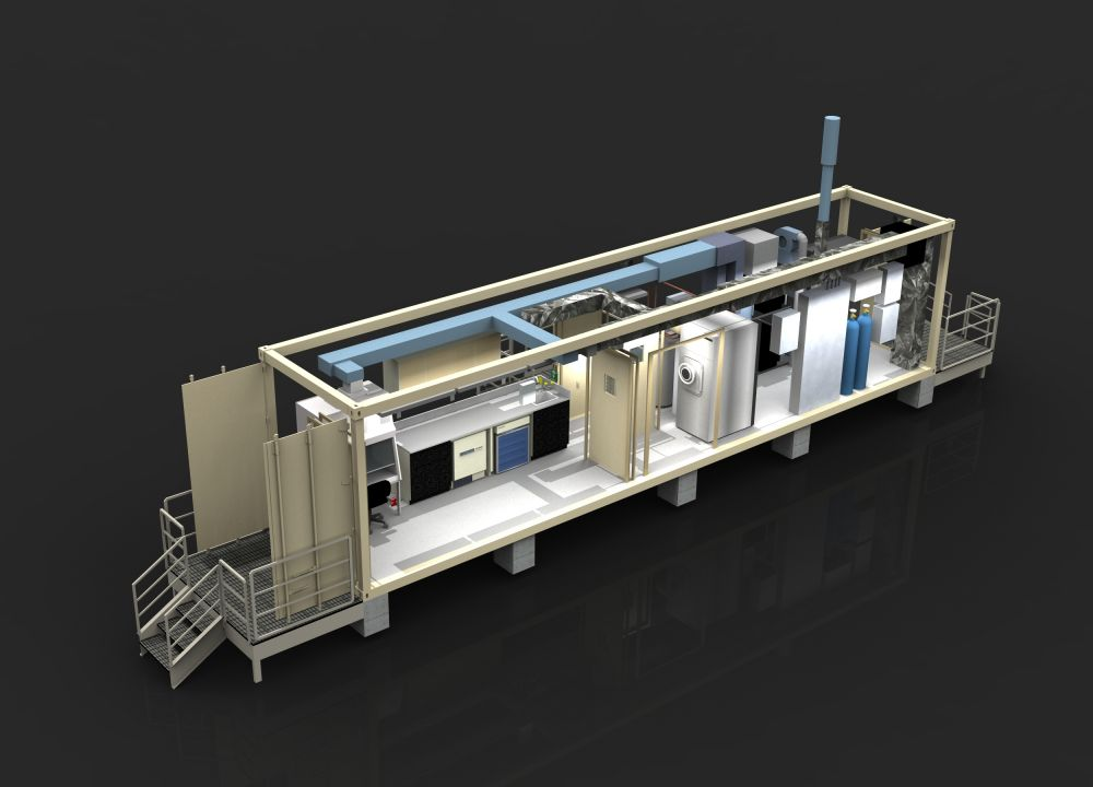 Shipping Container Lab / Container Dust Free Lab / Modular Lab