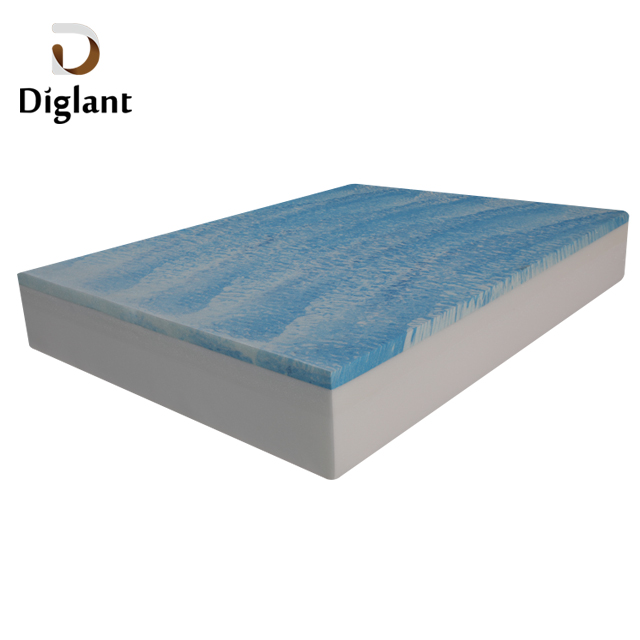 DM29 Diglant Latest Double King Size Gel Memory Natural Latex Single Fabric Foldable Bed queen mattress - Jozy Mattress | Jozy.net