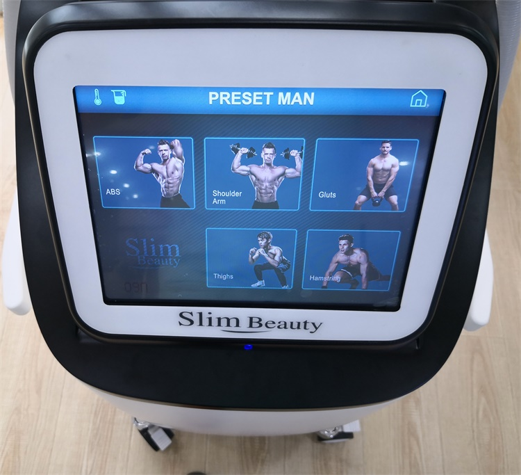 New arrival ems slim body building sculpting muscle machine