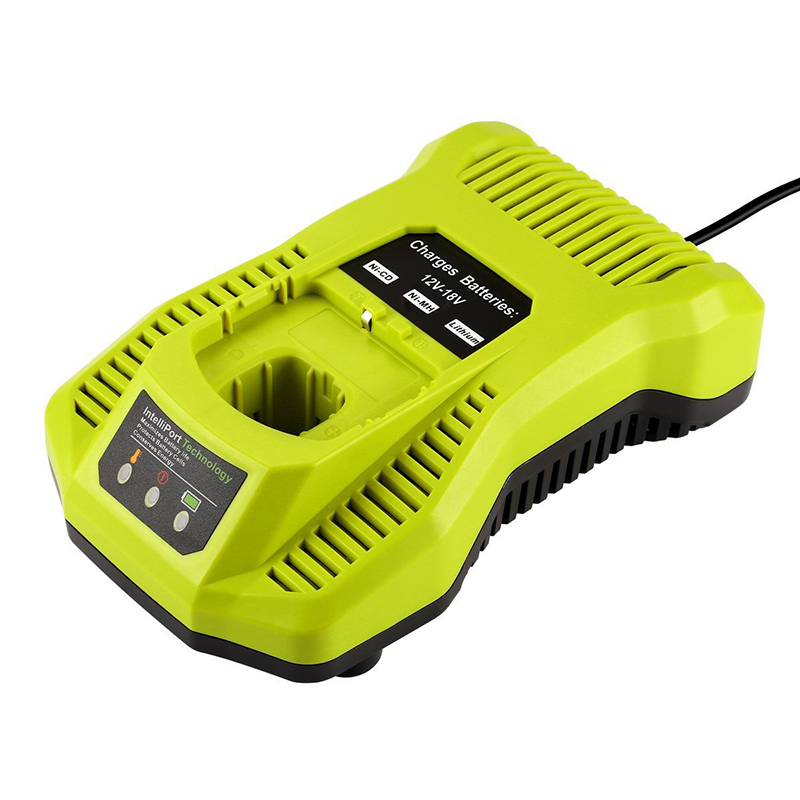 12V-18V Battery Charger P117 P118 For Ryobi Nicd Nimh Lithium Battery P100 P101 P102 <strong>P103</strong> P105 P107 P108 P200 1400670 Power Tool