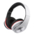 Folding wired headphones with microphone on ear noise isolating gaming headset for Iphone