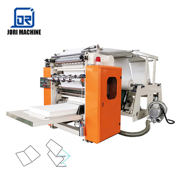 Cost of 4 Lines V folding Facial Tissue Paper Machine