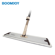 BOOMJOY E5 Floor Dry Wipe Hands Free Wash Mop Cleaning Aluminum Mops And <strong>Brushes</strong>