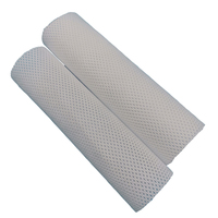 180g White cross design 100% Nylon Spunbond Nonwoven Fabric Breathable and Soft Shoes Material