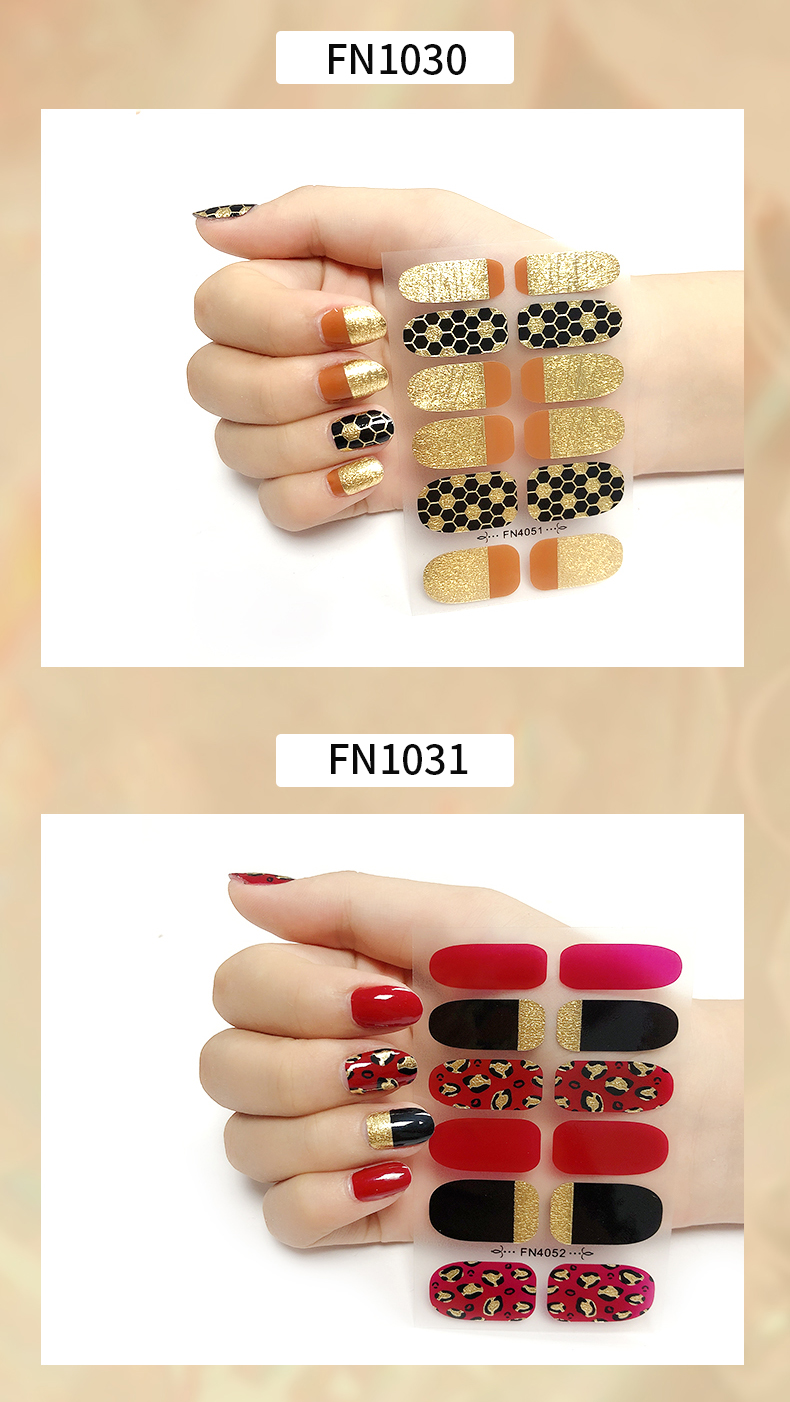 metallic nail polish wraps,custom nail jel wraps,nail Jel strips nail polish strips