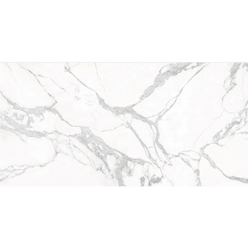 1200*2400mm Thin Large Size Big slab Glossy White Porcelain Slab Calacatta Floor Tile