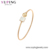 52702 Xuping 2020 new arrival crystals from Swarovski, square 18k gold color fashion bangles for women