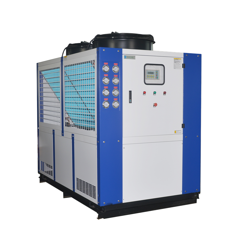 40 HP <strong>109</strong> KW Industrial Cooling System Plastic Injection Machine Water Chilling Equipment