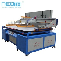 Hot sale product pneumatic cylinder bottle flat convenxity cup screen printing machine with CE