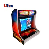 L01 Coin Operated Classic Ms Pacman Arcade Cabinet Fighting Video Game, Retro Joystick Bartop Tekken 7 Arcade Machine For Sale