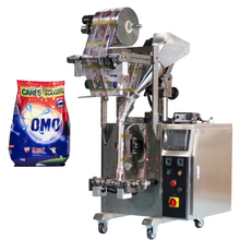Omo Sachet Detergent Washing Powder Packing <strong>Machine</strong> With Film Packaging Equipment