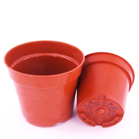 China Supply Cheap Round PP Material Plastic Flower Pot For Garden Nursery