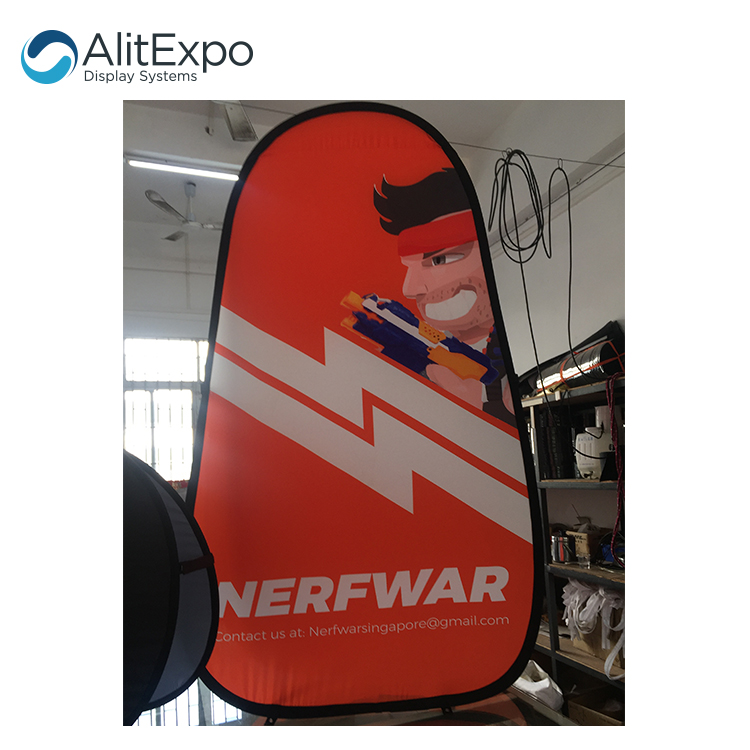 Custom printed Pop Up A frame banner for event