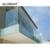 Aluminum Groove Spigot Balcony Stainless Steel Outdoor Glass Handrail Railing