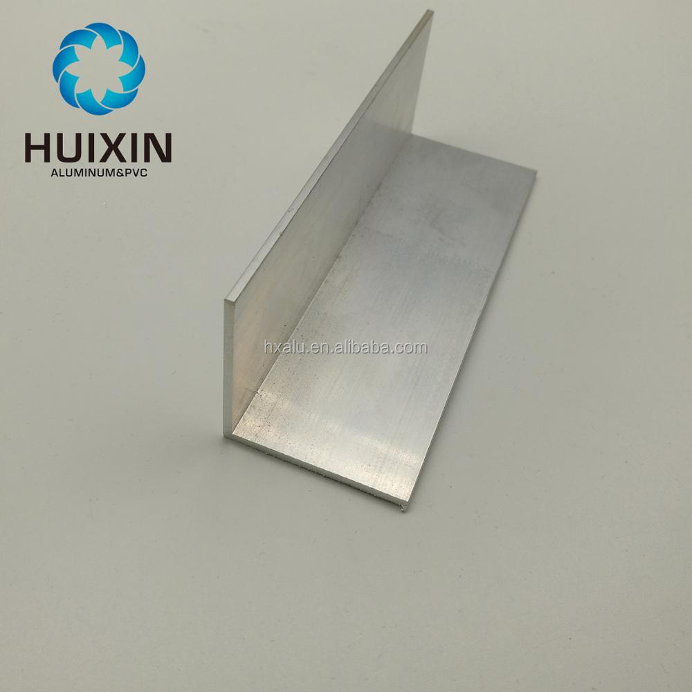 Aluminium factory supplying good price <strong>aluminum</strong> L angle extrusion profile