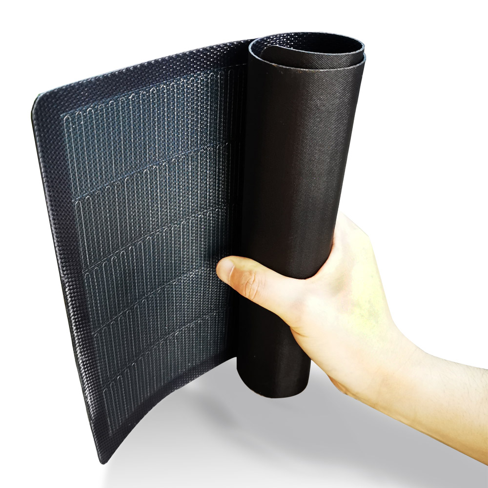 14W 5V CIGS Rollable Solar Panel thin film flexible roofing solar panel