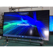 100 Inch 4K TV, Smart Television, LED Screen Display , High Resolution 3840x2160(Ultra HD), Cable&Wifi