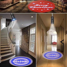 LED Rotating Logo Projection Light for Indoor Use 15W Spotlight with Custom GOBO <strong>Projector</strong> Lighting