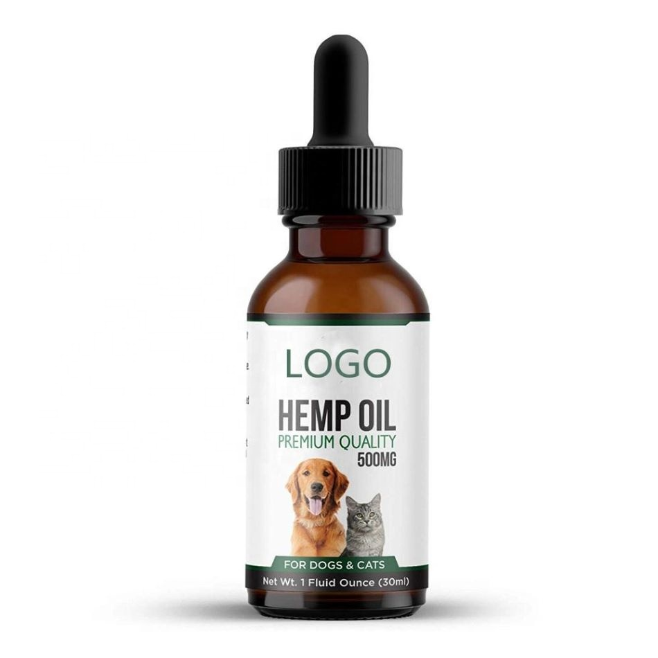 Hemp CBD oil 30ml organic <strong>natural</strong> for cat and dog China factory direct free sample custom label