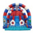 Commercial Colorful Inflatable Bounce Jumper Celebration Game  Inflatable Slide For Playground