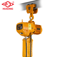 China electric cable crane 220v 380v 440V 3t 2t 1t 5t HSY electric chain hoist