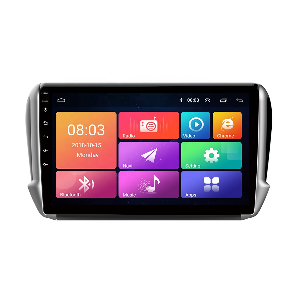 2.5 <strong>D</strong> LCD touch screen monitors car audio video entertainment navigation system