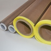 PTFE High Temperature PTFE Silicone Adhesive Tape With Release Paper