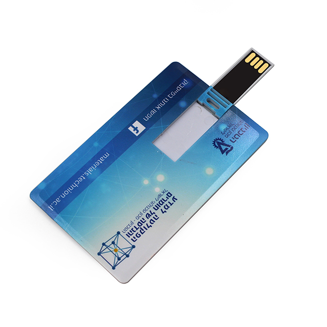 Bulk Promotion Gift Business Card Full Color Printing Logo 2.0 3.0 Card USB <strong>Flash</strong>