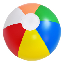 Wholesale colorful printed inflatable beach ball