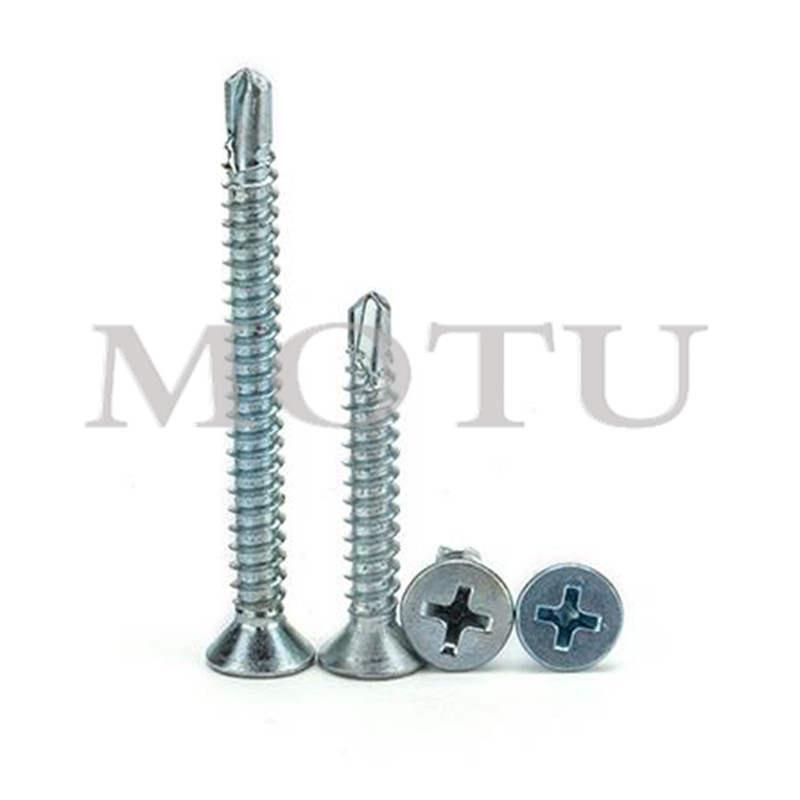 Custom Metal Roofing Fasteners Black Plated Roofing Self Drilling <strong>Screws</strong>