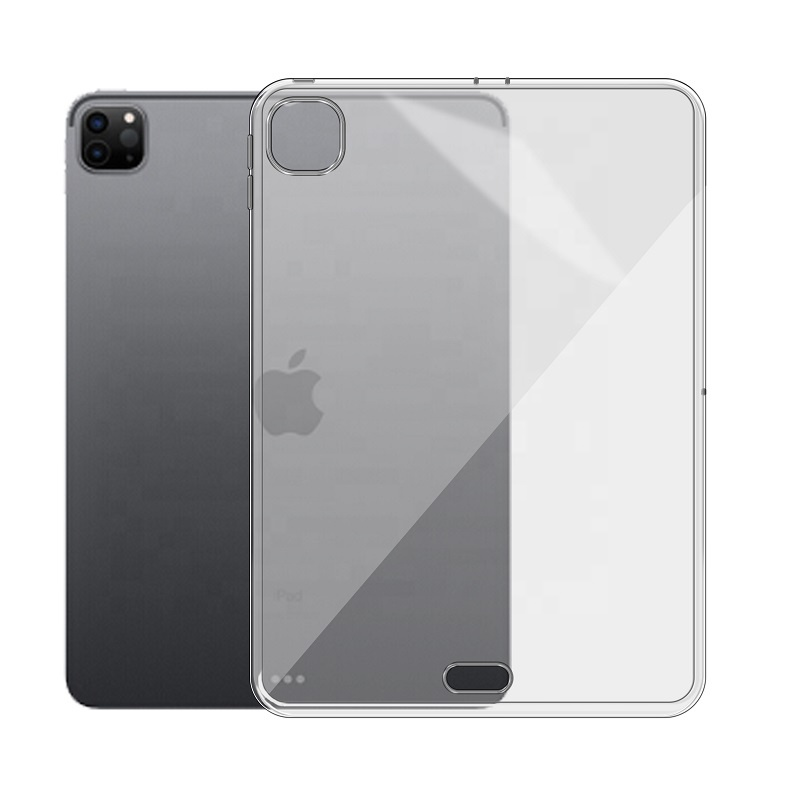 Slim Soft Transparent TPU Back Cover For <strong>iPad</strong> Pro 11 2020 Clear Case