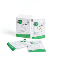 Feminine private Care Hygiene Single Use Flushable Wipes