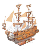 San Felipe XXL L200 cm - Handmade Wooden Model Tall Ships home decoration - nautical decor - wood craft