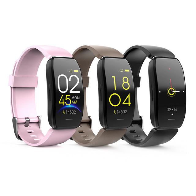 <strong>C114</strong> Smart Watch Pedometer Wristband Sleep Heart Rate Blood Pressure Health Monitoring IP67 Waterproof Men Women