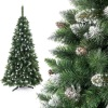 Crystal christmas trees, silver tree, artificial christmas tree