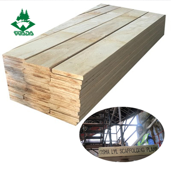 High Quality LVL Engineered Scaffolding Boards China Supplier