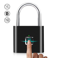 IP65 Smart Digital Alarm Fingerprint Pad lock/Smart Biometric Fingerprint Padlock