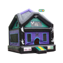 inflatable halloween haunted bouncer bounce houses for sale