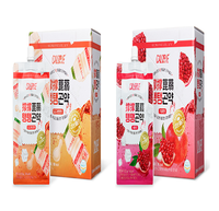 Calobye Korea No.1 sweet flavor Taeng Taeng Konjac Jelly / low calories / delicious Yogurt Flavour and Pomegranate Flavor