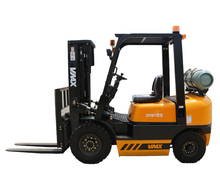 VMAX 2.5tons <strong>LPG</strong> CPQYD25 Gasoline engine forklift truck with nissan k25 and IMPCO <strong>Conversion</strong> device