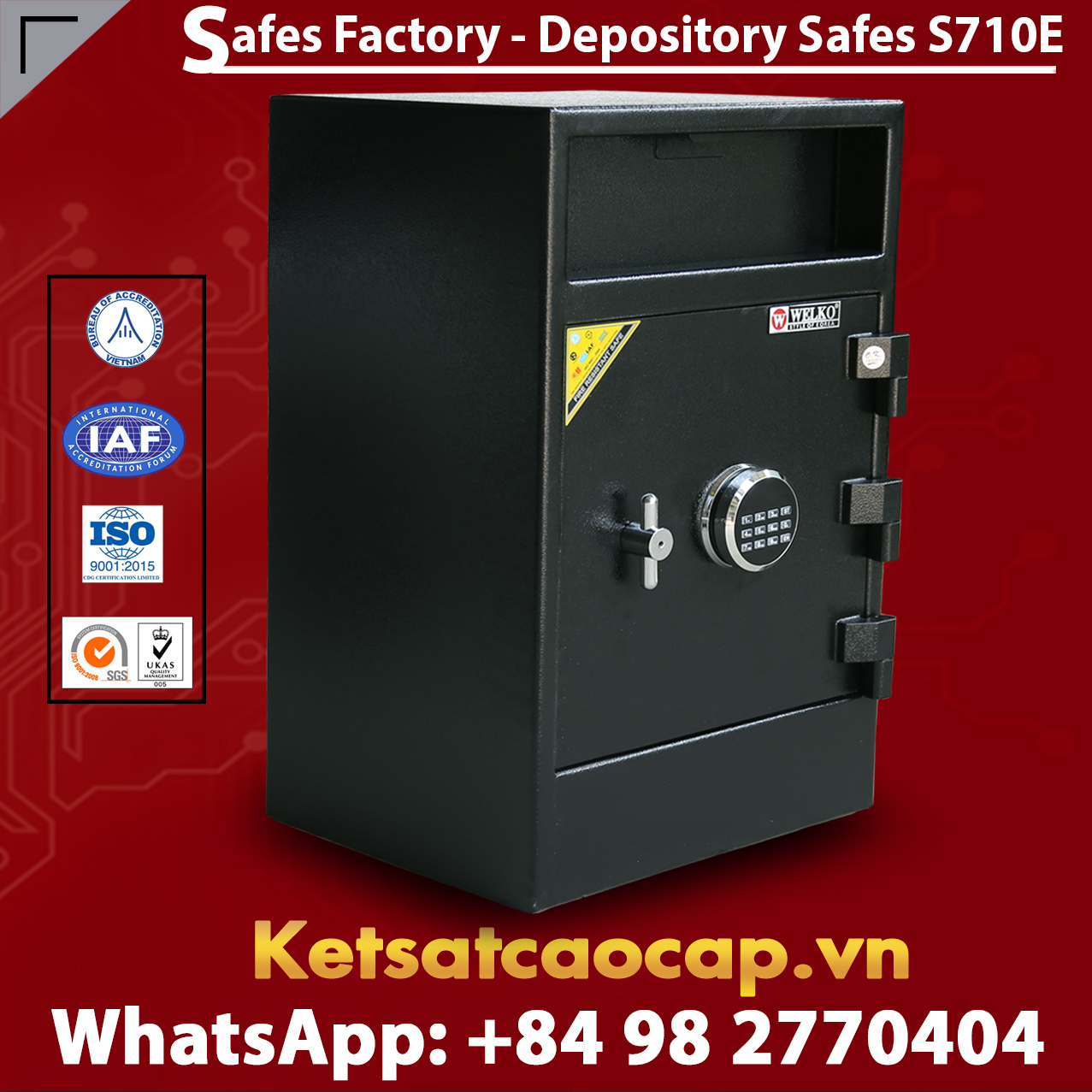 Depository Safes S710E with Best Price