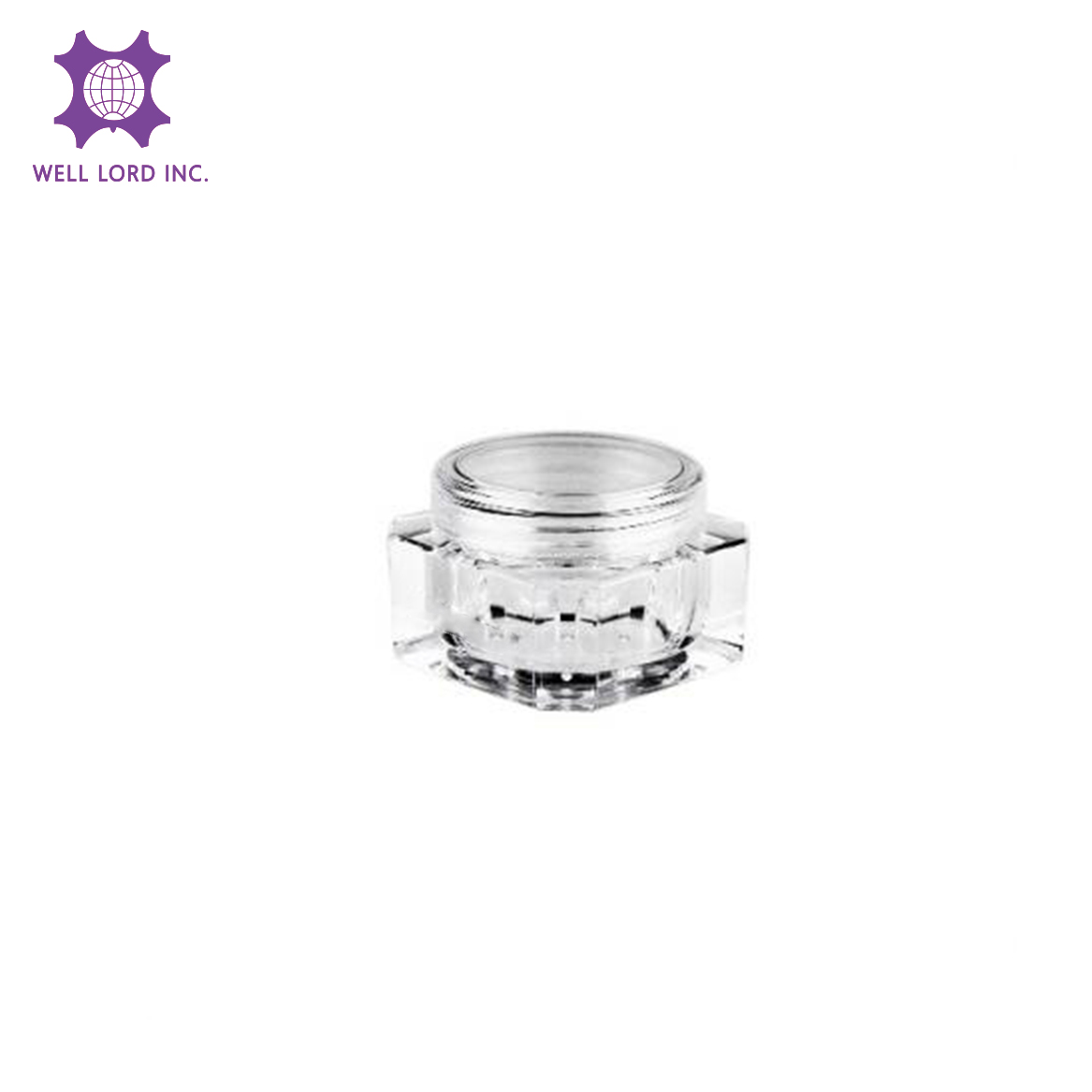 Clear Jars Plastic Jars Plastic Cosmetic Container Empty Cosmetic Sample Containers Transparent