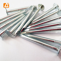 eg. Q195 carbon steel clout nails, zinc plated clout nails/ big head wire nails